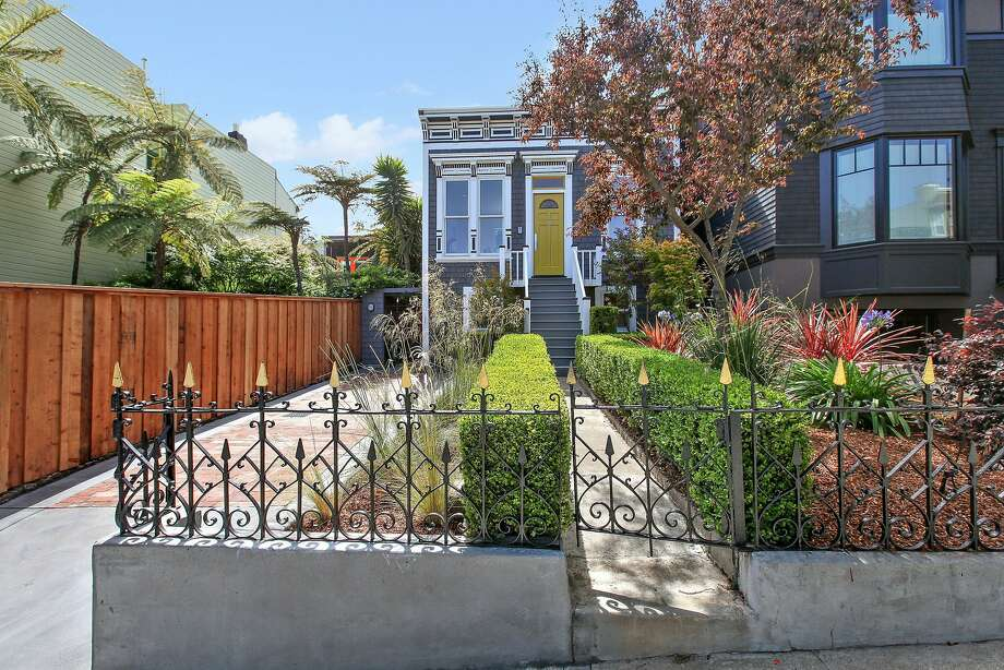 Separate Homes Share Landscaped Lot In Corona Heights Sfgate