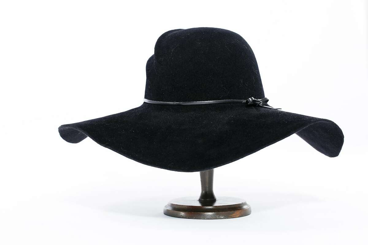 A Felt Floppy hat by Ron Schiller of Blue Monday Hats is seen on Friday, July 18, 2014 in San Francisco, Calif.