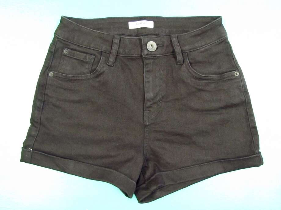 Black high-rise shorts, $48, Simply Chic, Nederland Photo: Larena Head/cat5