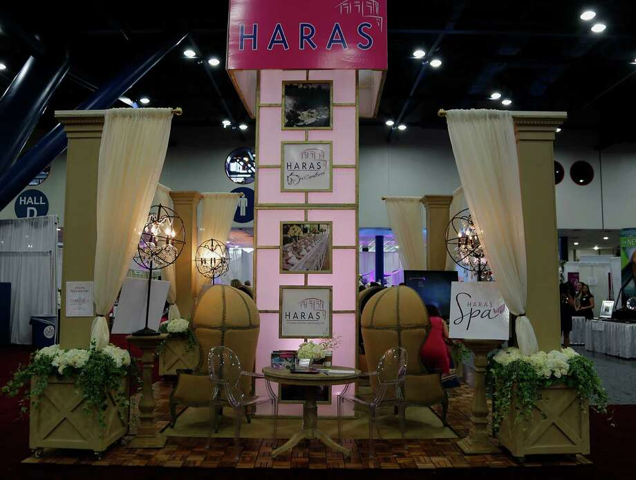 The Haras Spa booth during the 30th Bi-Annual Bridal Extravaganza Show at the George R. Brown Convention Center. Photo: James Nielsen, Houston Chronicle / © 2014  Houston Chronicle
