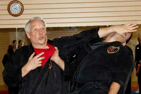 When he's not writing, prolific author Joe Lansdale is a martial arts teacher.