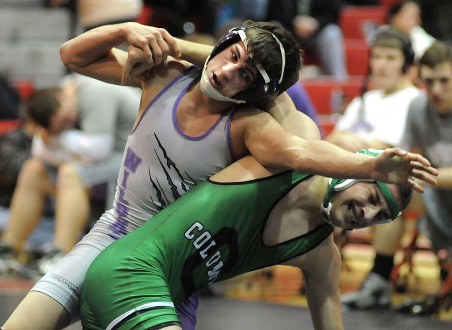 An autopsy found that Keystone High School wrestler Logan Stiner, top, had a lethal amount of caffeine in his system when he died May 27 in Ohio. Photo: Steve Manheim, MBR / The CHronicle Telegram