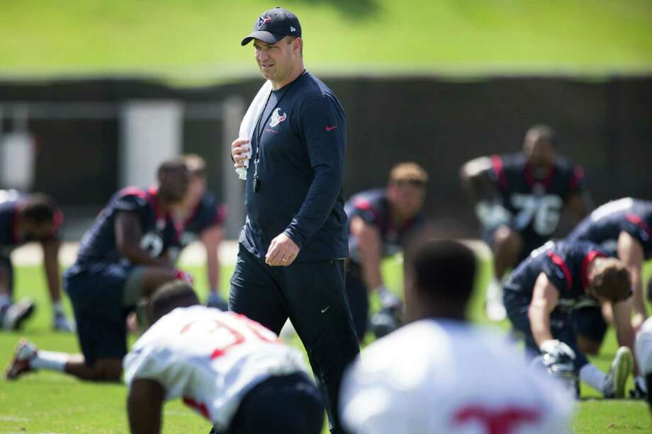 Texans coach Bill O'Brien opens his first camp with the team this week looking to develop a squad that will try to bounce back from last season's 2-14 debacle. Photo: Brett Coomer, Staff / © 2014 Houston Chronicle
