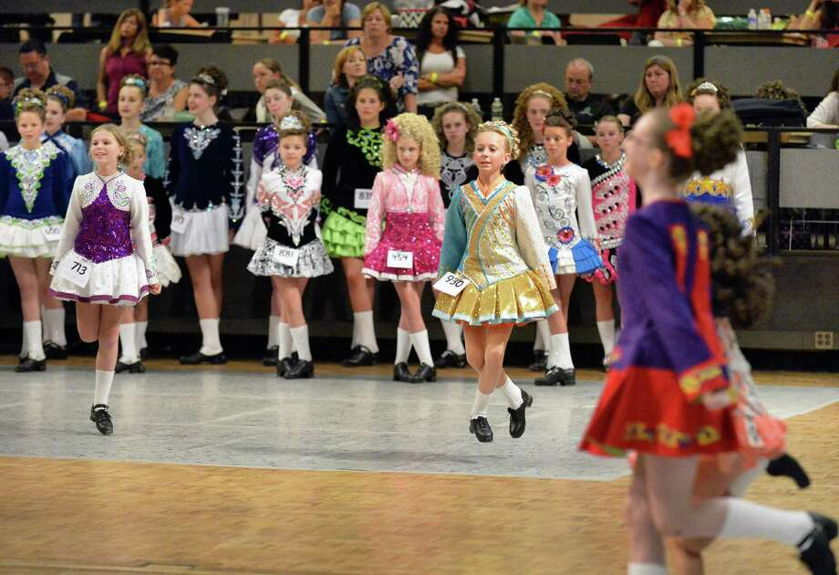 Dancers compete during the annual Dongan Feis dance competition at the Empire State Plaza Convention Center Saturday July 19, 2014, in Albany, NY.  (John Carl D'Annibale / Times Union) Photo: John Carl D'Annibale / 00026215A