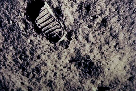 NASA astronauts Neil Armstrong and Buzz Aldrin spent a little over two hours on the moon's surface on July 20, 1969, the first of five landings on Earth's closest neighbor.
