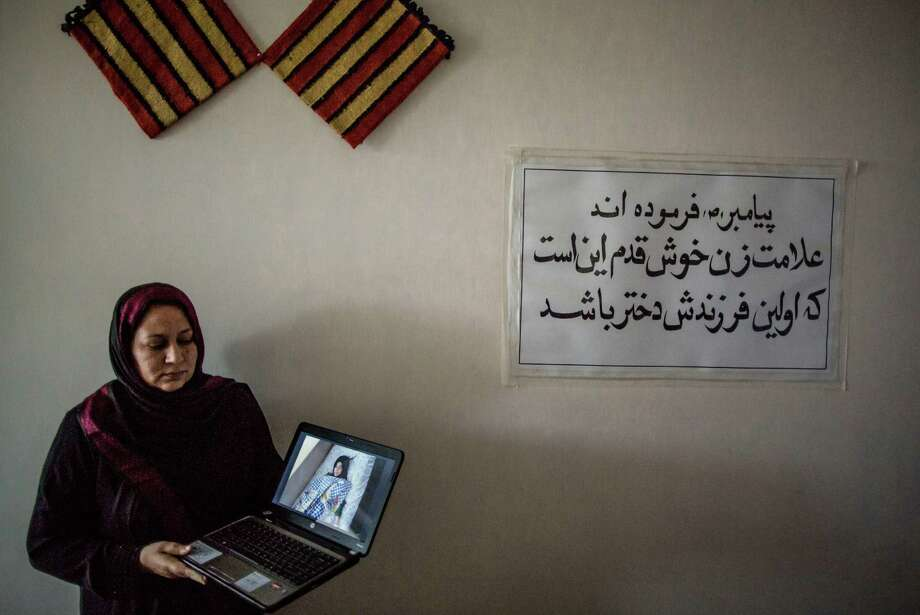 Amid death threats, Dr. Hassina Sarwari of Women for Afghan Women, has tried to help the girl, with little success. Honor killings are common in Afghanistan. Photo: BRYAN DENTON, STR / NYTNS