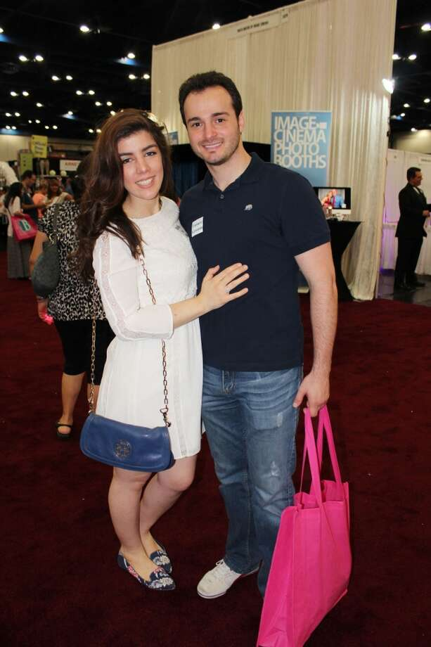 Attendees got a firsthand look at the latest trends and styles at the 30th biannual Bridal Extravaganza Show from Saturday, July 19, to Sunday, July 20, at the George R. Brown Convention Center in Houston. Photo: Jorge Valdez, For The Houston Chronicle