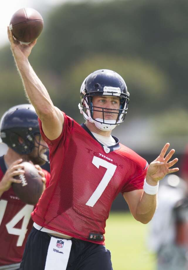 Case Keenum - Backup quarterback Photo: Brett Coomer, Houston Chronicle