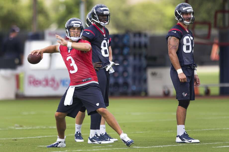 Tom Savage - Backup quarterback Photo: Brett Coomer, Houston Chronicle