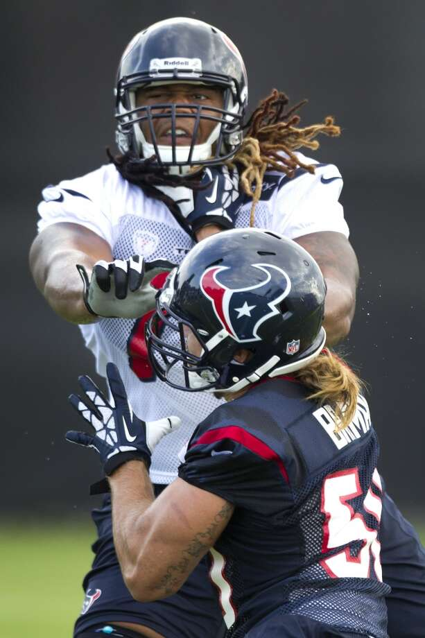 Brennan Williams - Backup left tackle (cut on 7/21)Not pictured: Will Yeatman Photo: Brett Coomer, Houston Chronicle