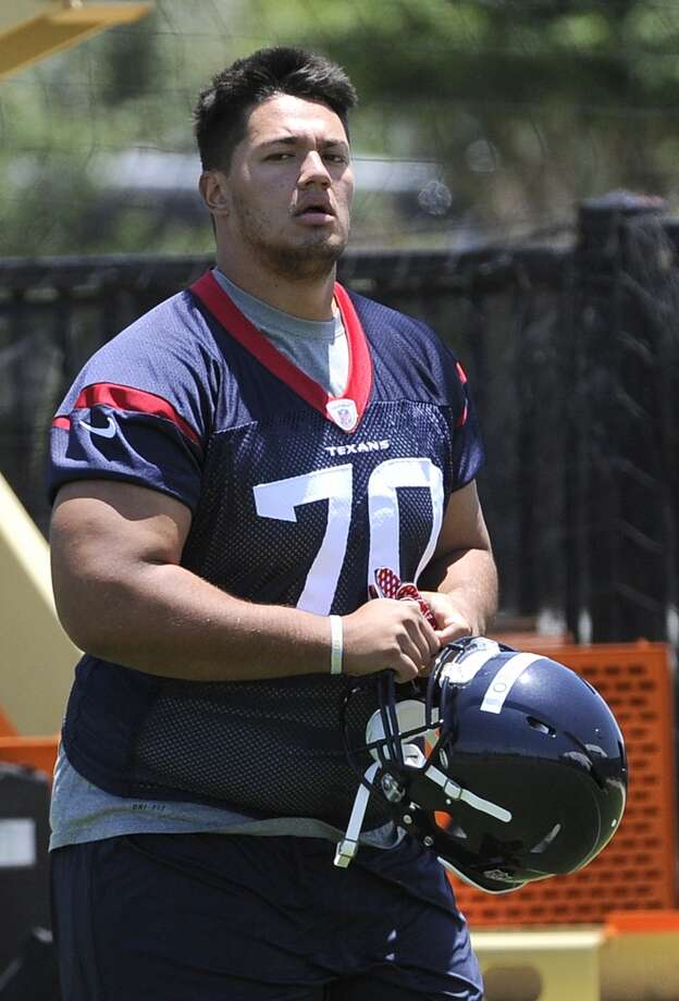 Xavier Su'a-Filo - Starting left guard  Analysis: The anchor of the Texans' offensive line is coming off an unfulfilling 2013. Brown has earned back-to-back Pro Bowl selections and was a 2012 All Pro. But he wasn't his normal rock-like self last season, playing through a foot injury while sometimes appearing out of rhythm. He added weight this offseason and enters training camp primed for a rebound. Photo: Pat Sullivan, Associated Press