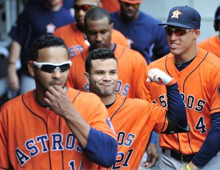 July 20: Astros 11, White Sox 7  Jose Altuve connected for his third home run of the season as the Astros salvaged one win out of the weekend set in Chicago.  Record: 41-58. Photo: David Banks, Getty Images