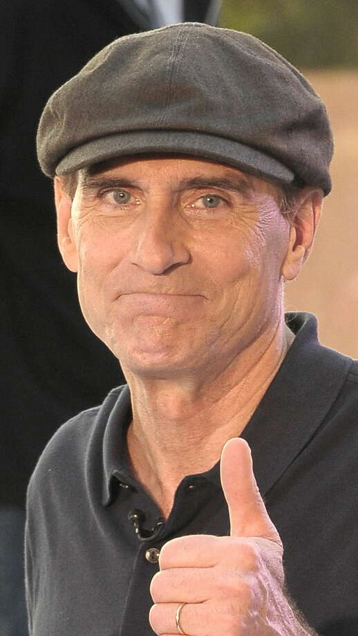 "NEW YORK - JUNE 18:  Musician James Taylor poses following a performance on NBC's ""Today"" at Rockefeller Center on June 18, 2010 in New York City.  (Photo by Michael Loccisano/Getty Images) Photo: Michael Loccisano / 2010 Getty Images"