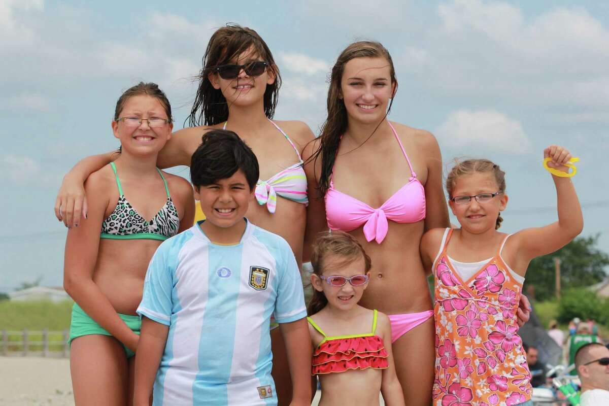 Beach goers enjoyed the summer weather at Silver Sands State Park in Milford on Sunday, July 20. Were you SEEN?