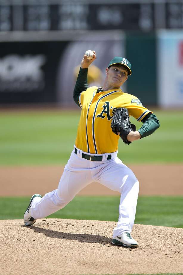 OAKLAND, CA - JULY 20:  Sonny Gray #54 of the Oakland Athletics pitches against the Baltimore Orioles during the first inning at O.co Coliseum on July 20, 2014 in Oakland, California. (Photo by Jason O. Watson/Getty Images) Photo: Jason O. Watson, Getty Images