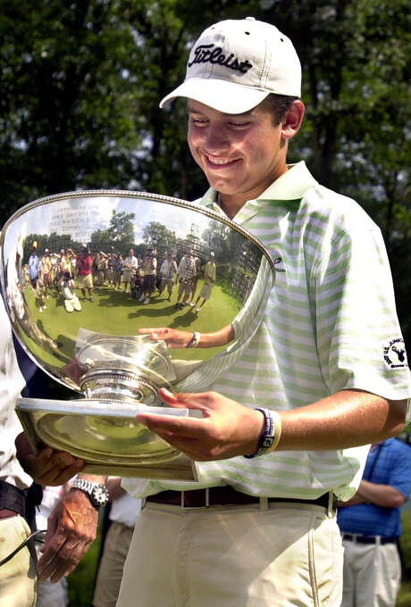 Cory Whitsett of Houston was beaming when he won the U.S. Junior Amateur at age 15 in 2007. That set the stage for a successful college career at Alabama to be followed by turning pro in June. Photo: F. Brian Ferguson, Freelance / Freelance