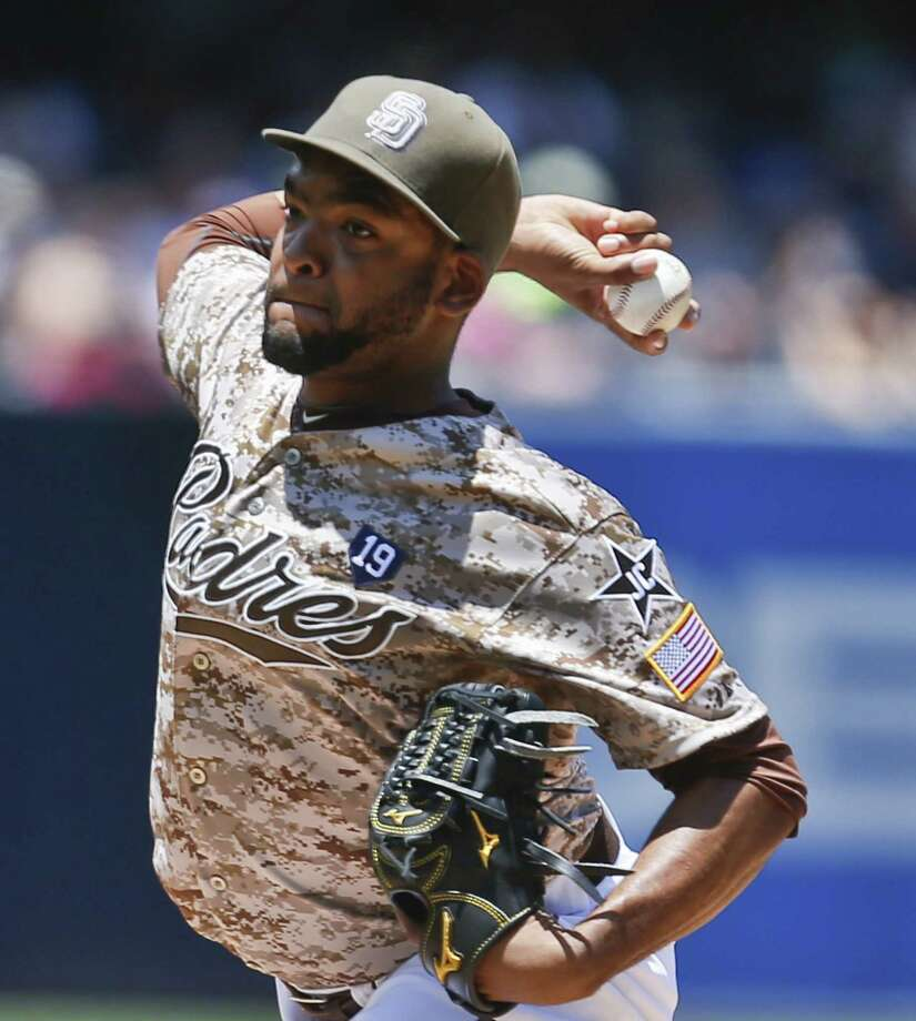 Padres starter Odrisamer Despaigne allowed the Mets one run and two hits in 72/3 innings. He did not get a decision. Photo: Lenny Ignelzi / Associated Press / AP