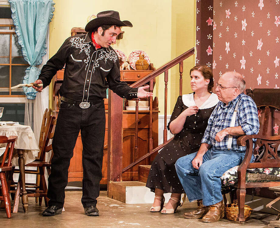 """""""The Rainmaker"""" is being presented through Aug. 10 at the Sherman Playhouse. Photo: Josh Siegel, Contributed Photo / Stamford Advocate Contributed"""