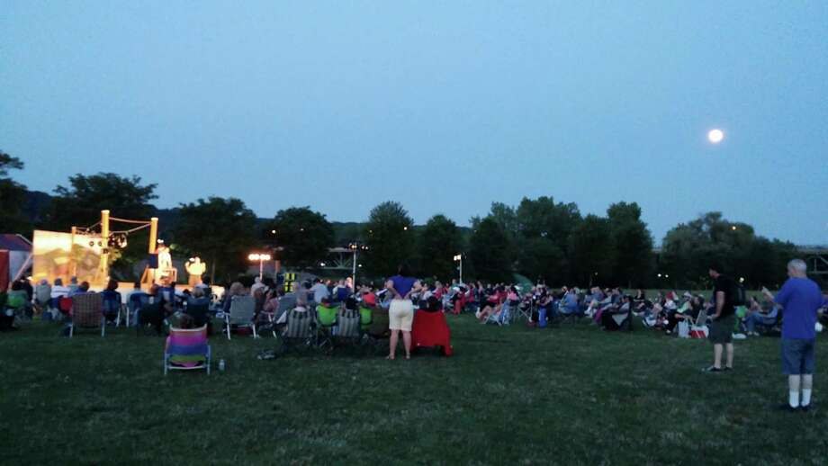 """More than 600 people attended the Shelton performances of """"Much Ado About Nothing"""" by the Valley Shakespeare Festival earlier this month - a 30 percent increase over the company's first season in 2013. Photo: Contributed Photo / Connecticut Post Contributed"""
