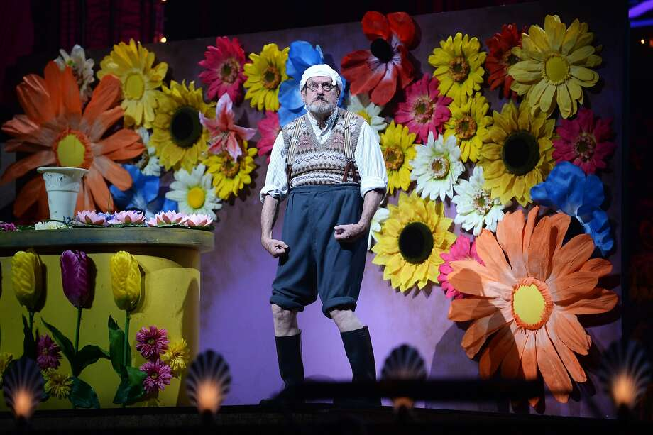Terry Gilliam performs on the closing night of 'Monty Python Live (Mostly)' at The O2 Arena on July 20, 2014 in London, England. Photo: Dave J Hogan, Getty Images