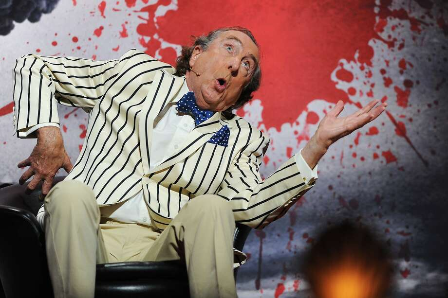 Eric Idle performs on the closing night of 'Monty Python Live (Mostly)' at The O2 Arena on July 20, 2014 in London, England. Photo: Dave J Hogan, Getty Images