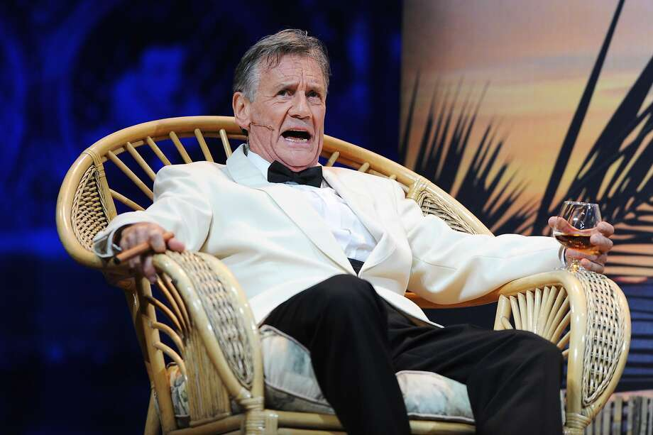 Michael Palin performs on the closing night of 'Monty Python Live (Mostly)' at The O2 Arena on July 20, 2014 in London, England.  Photo: Dave J Hogan, Getty Images
