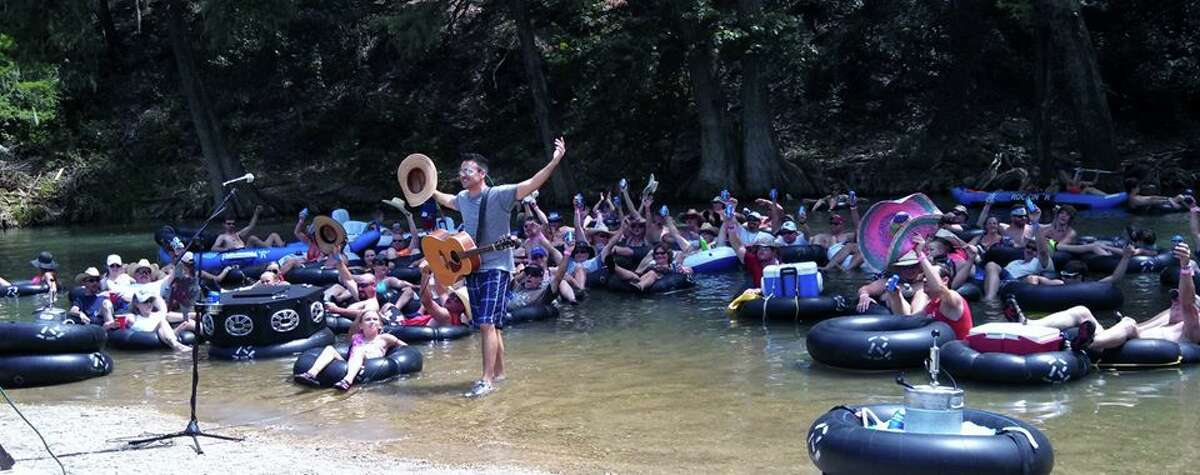 Creager's River Song details his memories floating at places just like Rockin' R.