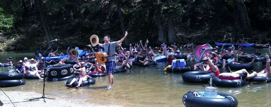 Creager's River Song details his memories floating at places just like Rockin' R. Photo: Rockin' R River Rides, Courtsey