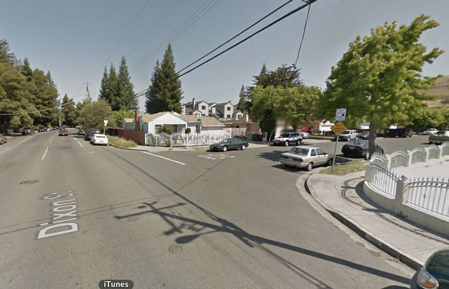 Dixon Street and Copperfield Avenue, Hayward, CA Photo: Google Maps