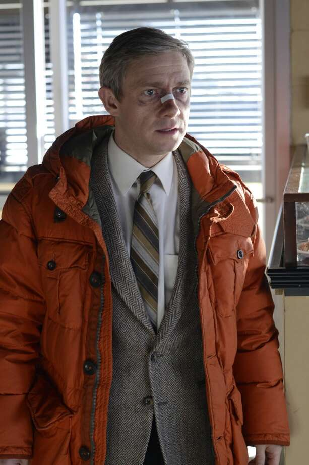 FARGO - Pictured: Martin Freeman as Lester Nygaard . CR: Chris Large/FX Photo: Chris Large