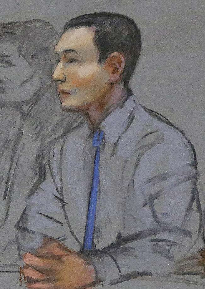 Azamat Tazhayakov, seen in a May courtroom sketch, was a friend of suspect Dzhokhar Tsarnaev. Photo: Jane Flavell Collins, Associated Press