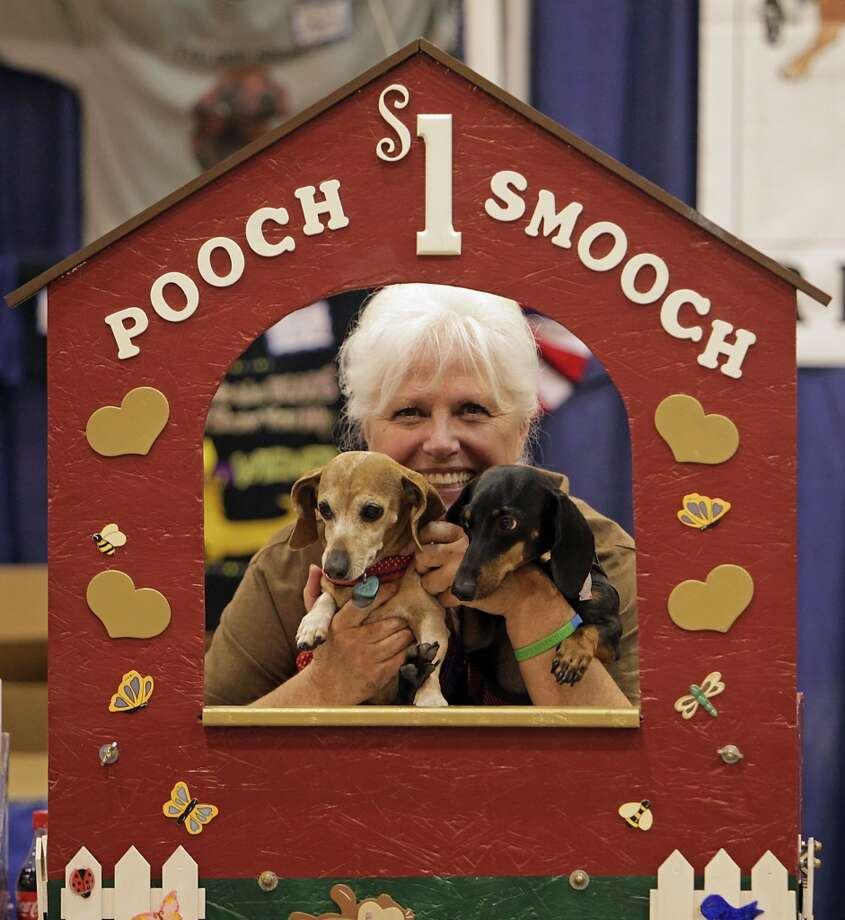 Every breed has a rescue group.Which is a great thing to see, judging by all the booths that were set up. Texans love their dogs, and the dogs that people sadly mistreat. These rescue dogs are also most likely to be donning some sort of costume. Photo: James Nielsen, Houston Chronicle