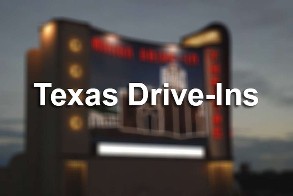 Click through the slideshow to see drive-ins around Texas.