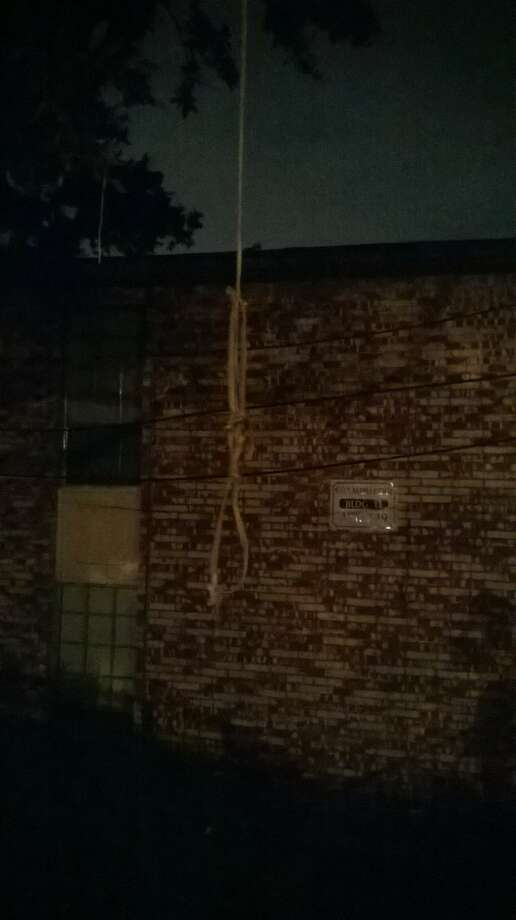 Houston jazz artist Erica Nicole was left this ominous threat outside her Bellaire apartment Friday night.