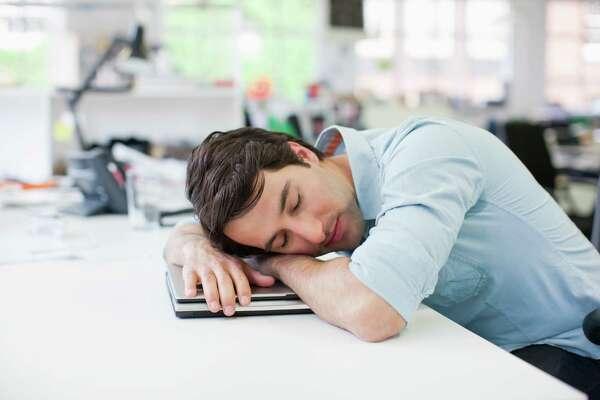 1. Losing sleep