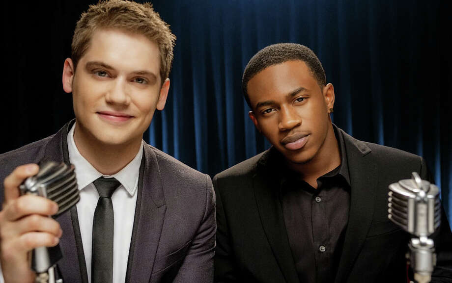 MKTO is Tony Oller, left, who hails from Cypress and Malcolm Kelly. Their sound draws from Michael Jackson and Justin Timberlake. Photo: Columbia Records / ©Adrian SIdney