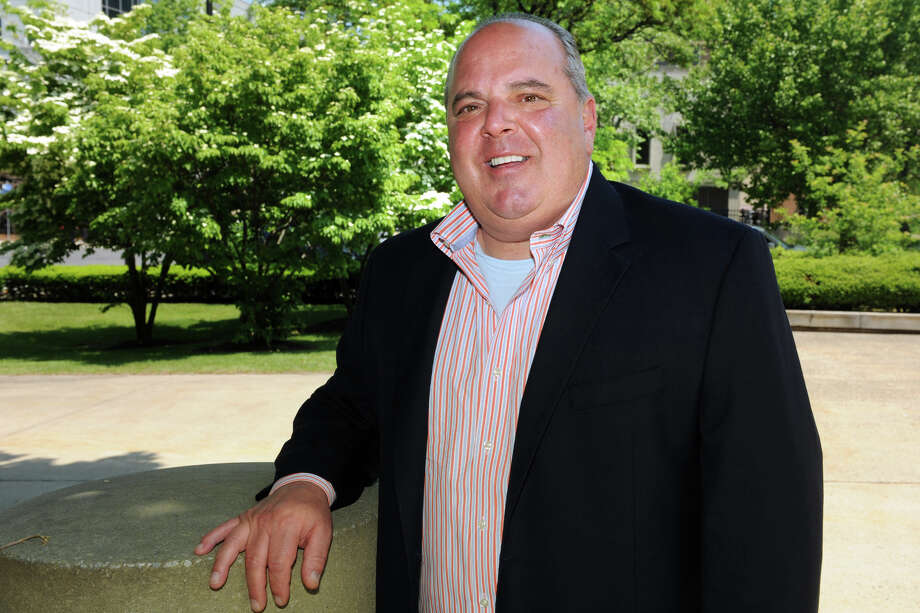Former Bridgeport Mayor John Fabrizi, in Bridgeport, Conn. June 3, 2014. Fabrizi is considering running for Mayor again. Photo: Ned Gerard / Connecticut Post