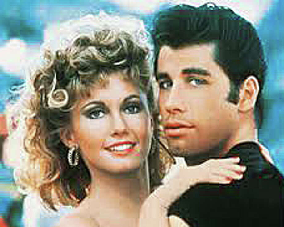 "Sing along with Olivia Newton-John and John Travolta in the classic movie musical, ""Grease,"" at 4 p.m. Saturday in the Westport Library. Photo: Contributed Photo / Westport News"