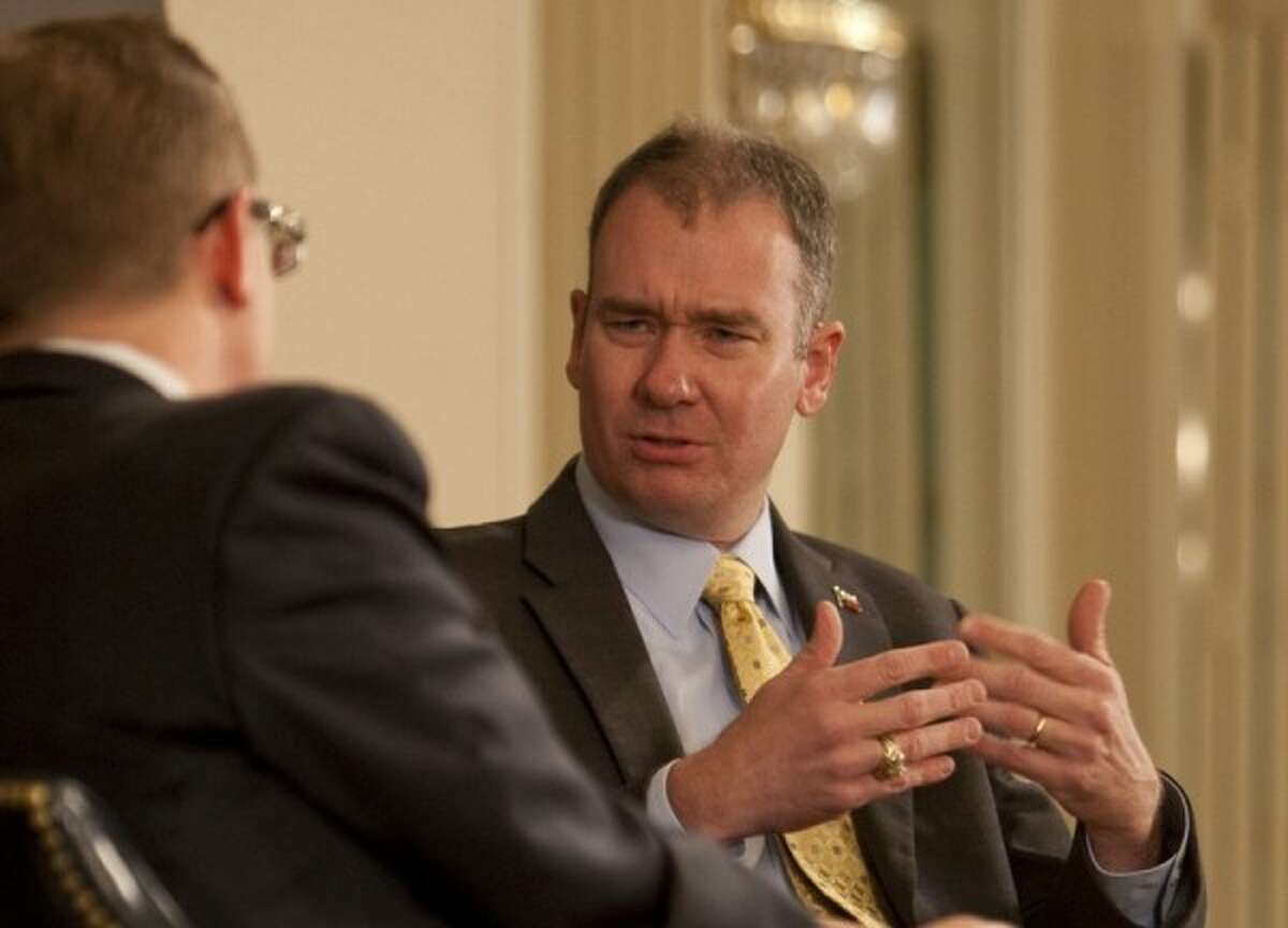 TribLive event with Michael Quinn Sullivan, president and CEO of Empower Texans and Texans for Fiscal Responsibility. Photo courtesy of Texas Tribune.