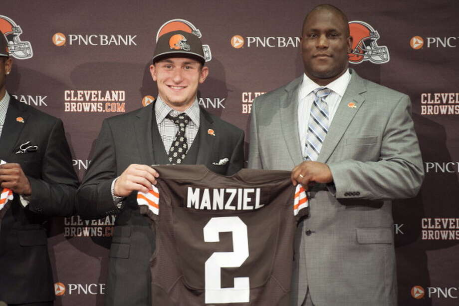 1. Johnny Manziel Photo: Jason Miller, Getty Images / 2014 Getty Images