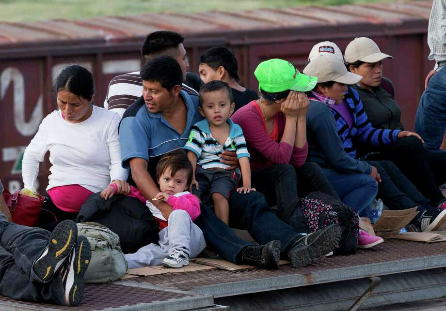 Consider the danger  Central American children, such as these journeying toward the  United States, face at home. Photo: Eduardo Verdugo, Associated Press / AP
