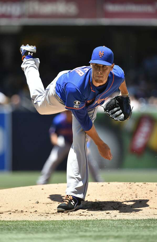New York starter Zack Wheeler, who is 5-8 with a 3.78 ERA, could be a key for the Mets down the stretch. Photo: Denis Poroy, Getty Images