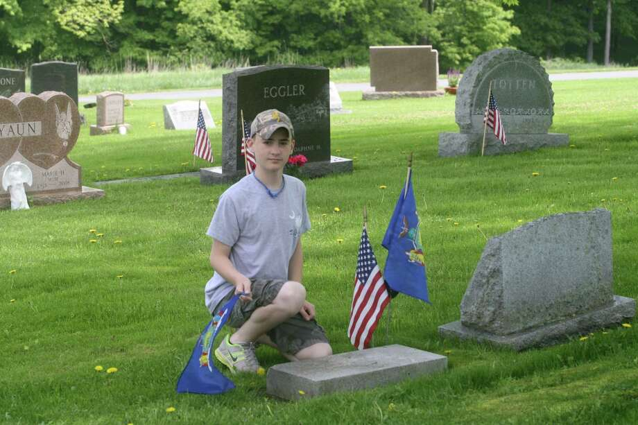 First troopers' graves get new markers - Times Union