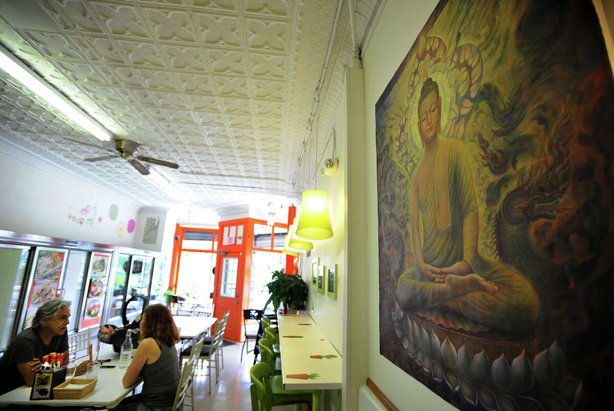 Ruuthai Kitchen authenthic Thai cuisine at 648 Beechwood Avenue in Bridgeport, Conn. on Tuesday, July 15, 2014.