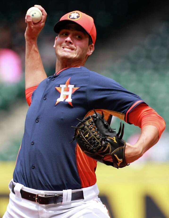 Injuries and ineffectiveness have derailed Mark Appel's 2014 season at Class A Lancaster so far. Photo: Melissa Phillip, Staff / © 2014  Houston Chronicle