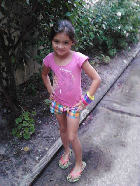 Sheyli Galvez, 7, was partially orphaned by her mother's murder. Photo: Courtesy Of Rolvin Galvez