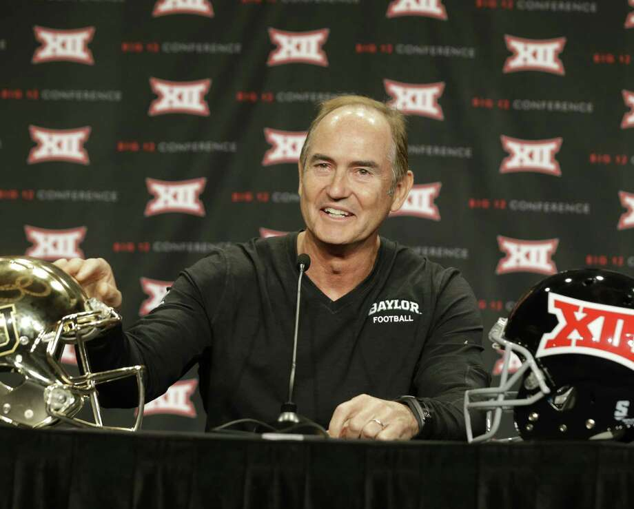 Baylor coach Art Briles remains displeased that his QB, Bryce Petty, wasn't invited to the Heisman Trophy ceremony last season. Photo: L.M. Otero / Associated Press / AP