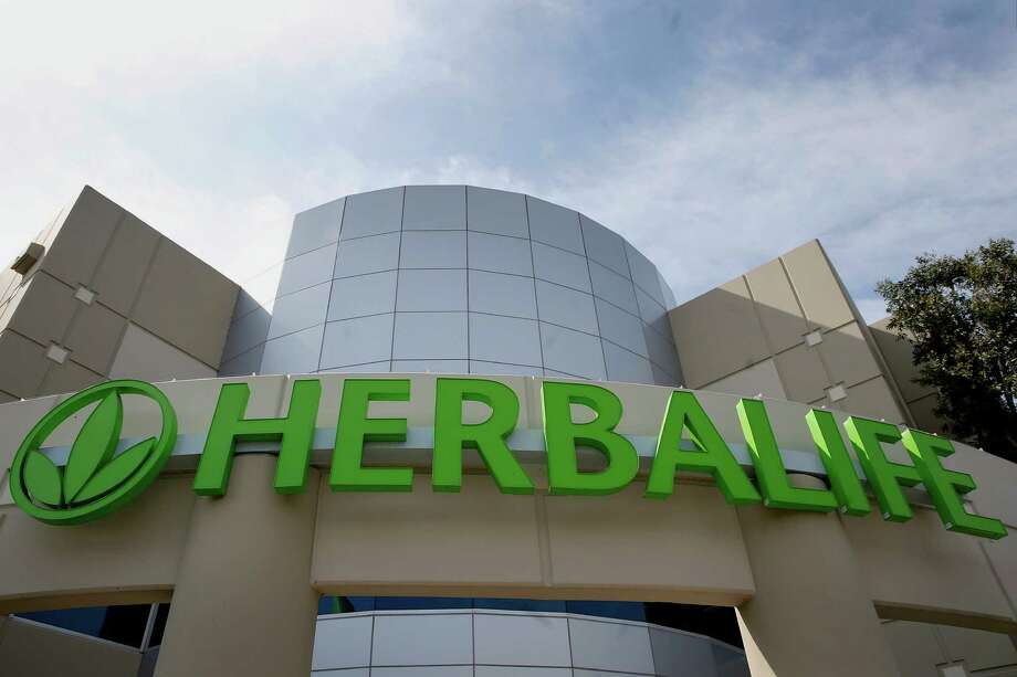 "Investor Bill Ackman says Herbalife, with a distribution center in Carson, Calif., is a ""fraud."" Photo: Patrick T. Fallon / © 2014 Bloomberg Finance LP"