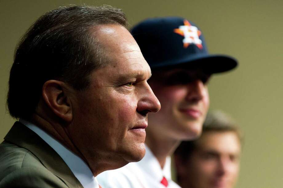Super agent Scott Boras says the Astros and Cubs are taking different ideological directions in their approach to rebuilding their franchises. Photo: Smiley N. Pool, Staff / © 2013  Smiley N. Pool