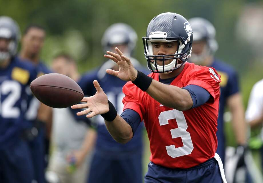 QUARTERBACK B.J. Daniels | 2nd year | South Florida Tarvaris Jackson | 9th year | Alabama State Terrelle Pryor | 4th year | Ohio State RUSSELL WILSON (pictured) | 3rd year | Wisconsin  Through his first two seasons, Wilson is off to one of the best starts to a quarterback's career in NFL history. Jackson is the presumptive favorite to win the backup role, but he could be challenged by the ultra-athletic Pryor. Photo: Elaine Thompson, Associated Press